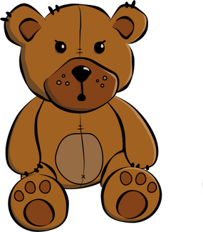 Teddy-bear-Pathed